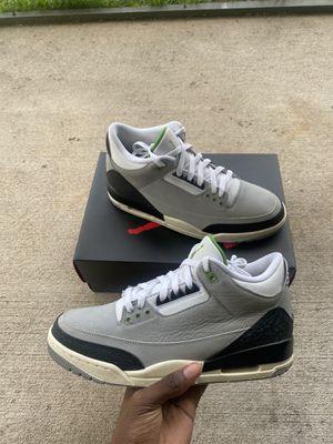 """Jordan 3 Retro """"Chlorophyll"""" Size 10 for Sale in Orlando, FL"""