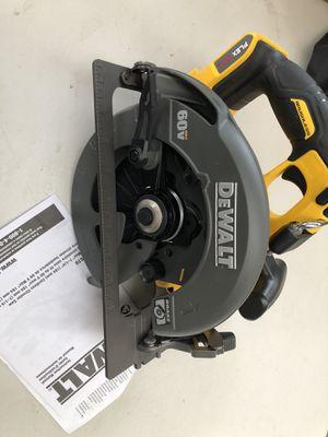 Dewalt flex volt circular saw brand new (tool only) for Sale in Tacoma, WA