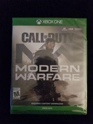 Modern warfare xbox one for Sale in Aurora, CO