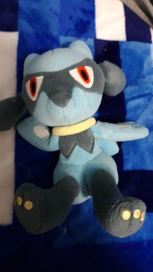 Pokemon plushy riolu for Sale in Layton, UT