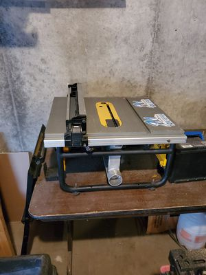 10 inch dewalt table saw for Sale in Kansas City, MO