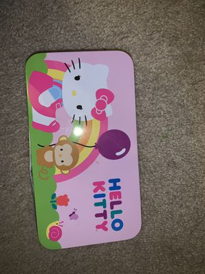 Hello Kitty Pencil Case, Makeup Bag & Color Play Pack for Sale in Wichita, KS