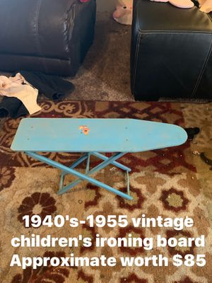 1940's Childrens ironing board for Sale in Quincy, IL