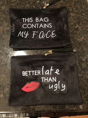Make up bags (8 each) for Sale in Elk River, MN