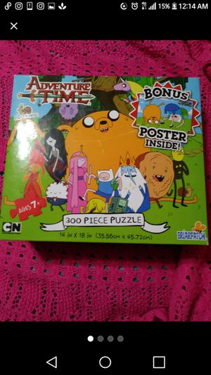 Adventure Time nib new puzzle for Sale in Pittsburgh, PA