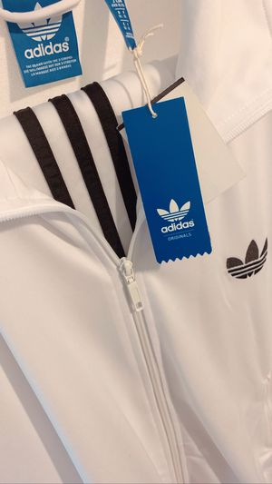 Brand New Adidas Originals All White Tracksuit Jacket and Pants Rare Item for Sale in Los Angeles, CA