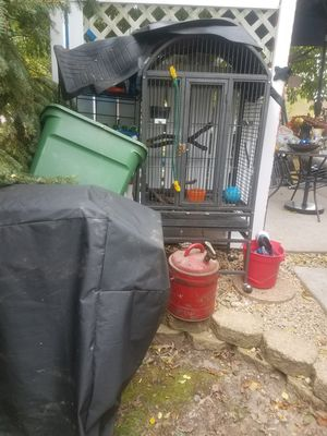 Parrot bird cage best offer will deliver for Sale in Saint Anthony, MN