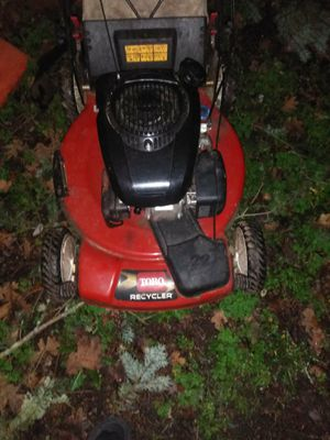 Toro recycle 22 inch lawnmower for Sale in Parkland, WA