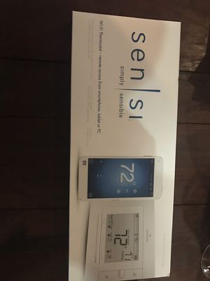 Smart thermostat over Wi-Fi for Sale in Houston, TX