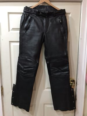Harley Davidson leather motorcycle pants. for Sale in Staunton, VA
