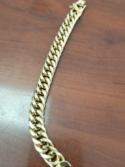 Gold Plated Cuban Link Bracelet for Sale in Miami,  FL