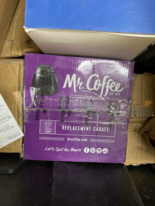 Mr. coffee replacement carafe 12 cup