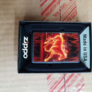 Zippo Horse Flaming Black matte 28304 for Sale in Los Angeles, CA