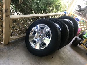 Chevy rims rines chevy silverado for Sale in Fort Worth, TX