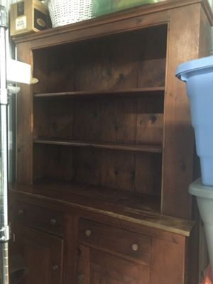 Pine hutch for Sale in Brentwood, TN