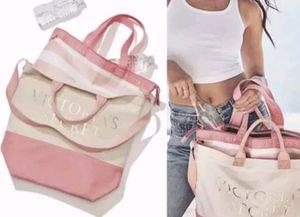 Nwt Victoria'ssecret tote cooler bag 2 in 1 $25 for Sale in Winter Haven, FL