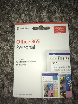 Office 365 for One Year for Sale in Vancouver, WA