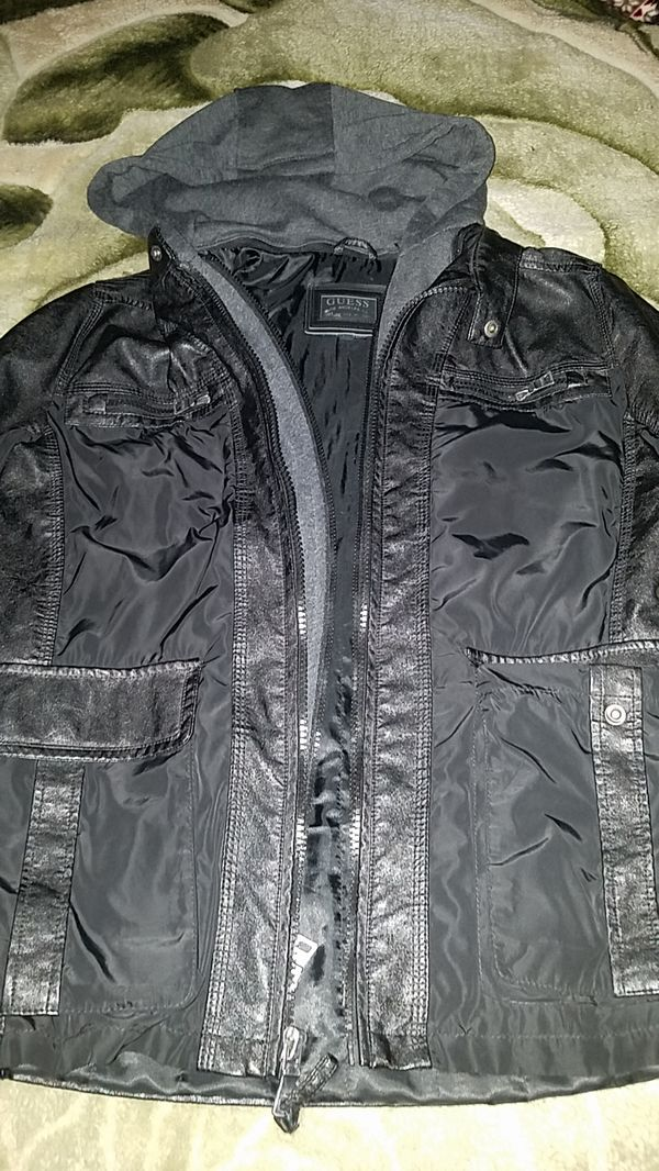 Leather jacket by Guess