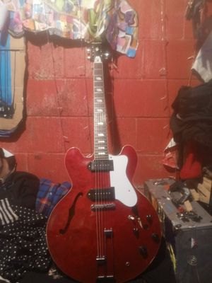 Epiphone Riviera 1995 peerless factory with Lindy fralin p90s for Sale in Hazard, CA