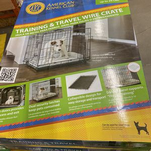Small Wire Dog Crate /Training create /travel crate for Sale in Boring, OR