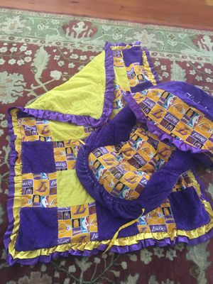 Lakers crib bedding for Sale in La Verne, CA