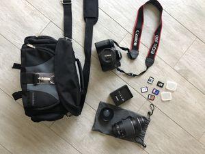 Canon 70D DSLR for Sale in Sacramento, CA