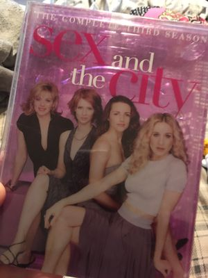 Sex and the city completed 3 series $5 for Sale in Tulsa, OK