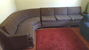 Mid century modern sectional couch for Sale in Traverse City, MI