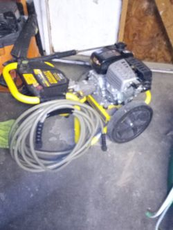 Stanley Fatmax Gas Powered Pressure Washer for Sale in Bellflower,  CA