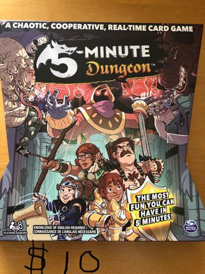 5-minute dungeon game for Sale in DIXON, MO