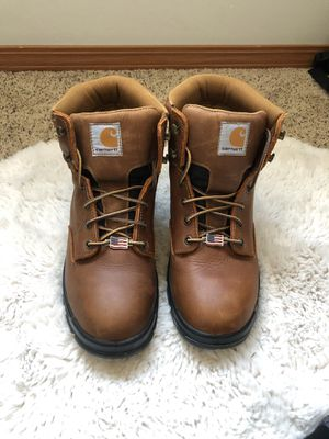 Carhartt size 10 work boots for Sale in Wenatchee, WA