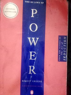 Book/~ the 48 laws of power for Sale in West Covina, CA