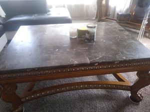 3 marble table for Sale in Portland, OR