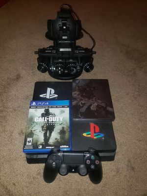 PS4 with 2 games and goggles for Sale in Columbus, OH