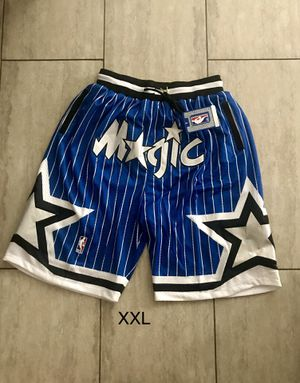 New! Orlando Magic Blue Basketball Shorts Men's Size XXL 2XL for Sale in Pomona, CA