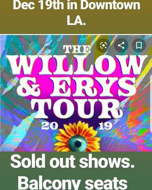 Jaden & Willow tour dec 19th for Sale in Santa Ana, CA