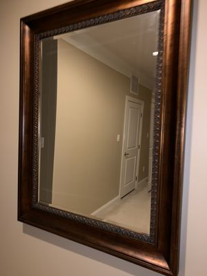 Heavy solid wood mirror for Sale in North Potomac, MD