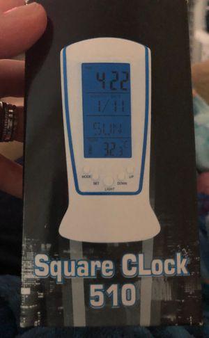 Square clock, brand new!! 👏🏻 for Sale in Honolulu, HI