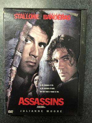 Assassins DVD - Stallone, Banderas for Sale in Preston, CT