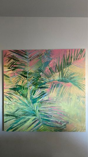 """Palm dream readings 48"""" canvas painting for Sale in Chandler, AZ"""