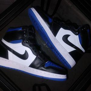 Jordan 1 Retro High Royal Toe Size 8.5 Men for Sale in Stockton, CA