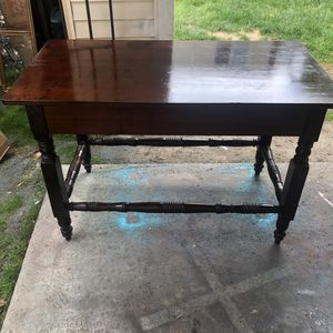 Beautiful wooden entry way table for Sale in Alexandria, VA