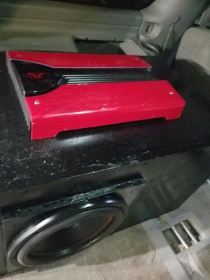Fosgate p6002s amp 1200watts rms for Sale in Angleton, TX