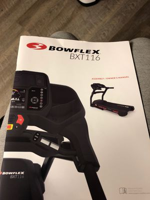 Bowflex treadmill for Sale in Westminster, MD