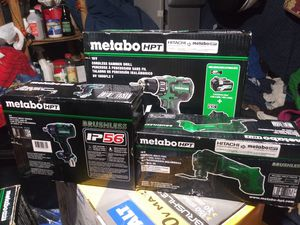 Hitachi cordless tools for Sale in North Las Vegas, NV