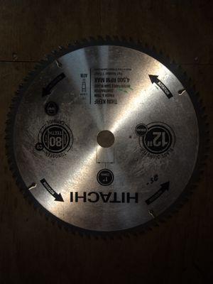 "Hitachi 12"" blade for Sale in Berwick, PA"