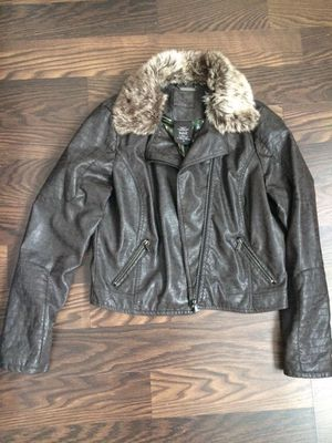 Brown leather jacket for Sale in Frederick, MD