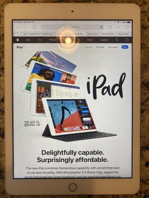 Apple iPad 5th Generation 128GB Wi-Fi- Rose Gold for Sale in Detroit, MI