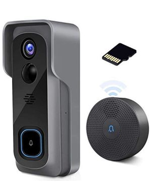 BRAND NEW WiFi wireless video doorbell camera with chime 2-way audio motion detection night vision for Sale in Anaheim, CA