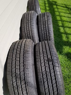 """17"""" Jeep Wrangler Wheels & Michelin Tires for Sale in Chicago, IL"""